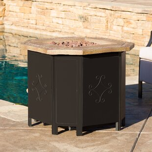 Mcandrew Cast Iron Propane Fire Pit Table