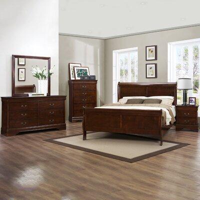 Alcott Hill Haag Queen Sleigh Bedroom Set