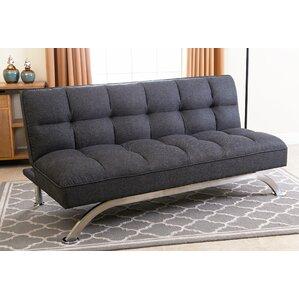 Cleta Click Clack Convertible Sofa by Ivy Br..