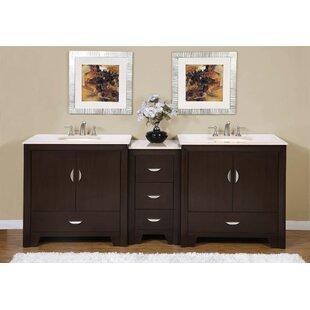 Sweat 89 Double Bathroom Vanity Set by Ebern Designs