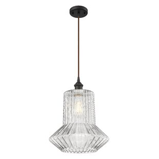 Highland Dunes Deserie 1-Light Geometric Pendant