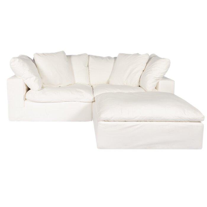 Fine Fairwood Right Hand Facing Modular Sectional With Ottoman Creativecarmelina Interior Chair Design Creativecarmelinacom