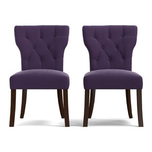 Kern Upholstered Dining Chair (Set of 2) Charlton Home
