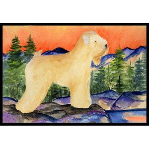 Wheaten Terrier Soft Coated Doormat