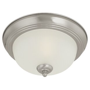 Thomas Lighting Ceiling Essentials 1-Light Flush Mount
