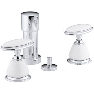 Kohler Antique Vertical Spray Bidet Faucet with Oval Handles, Requires Cer..