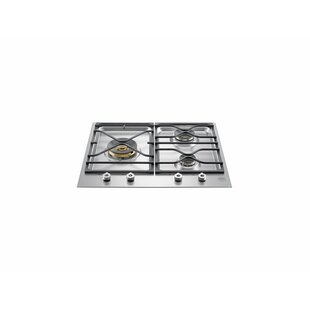 Pro Series 24'' Gas Cooktop with 3 Burners