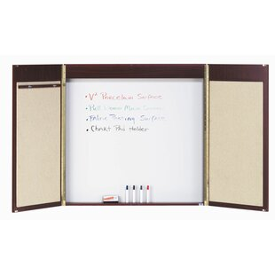 Conference Cabinet Enclosed Combination Whiteboard by AARCO