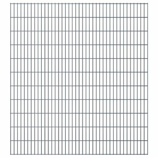 Brann 2D 125' X 7' (38m X 2.23m) Picket Fence Panel By Sol 72 Outdoor