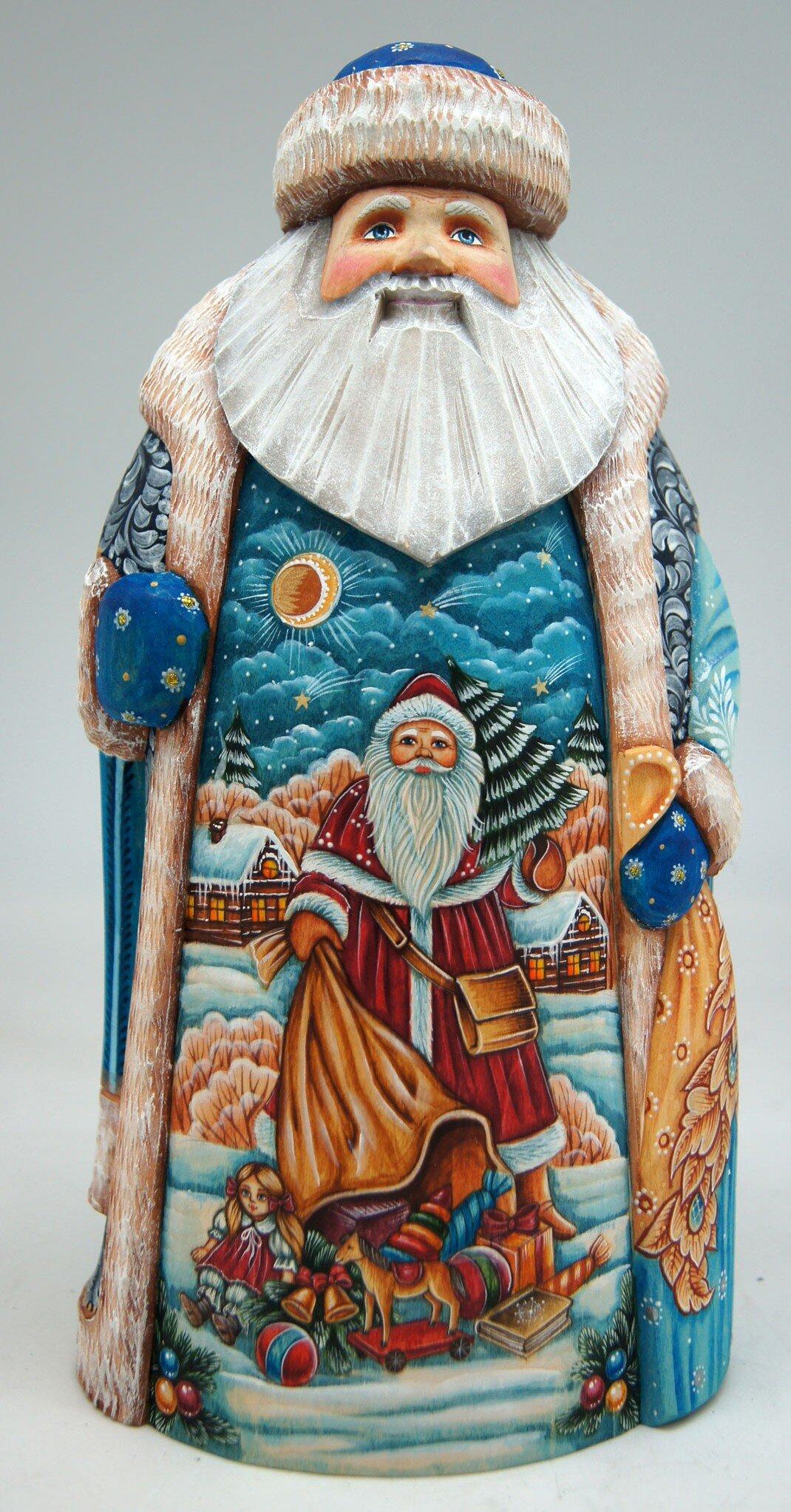 Wood Santa Figurines You Ll Love In 2021 Wayfair