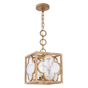Angelo 4-Light Square/Rectangle Pendant by Bungalow Rose