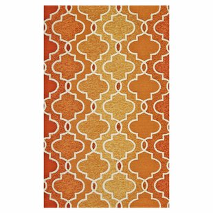 Hannah Handmade Hooked Sunset Indoor/Outdoor Area Rug