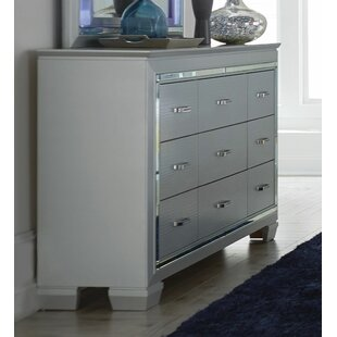 Swanage Wooden 9 Drawer Chest