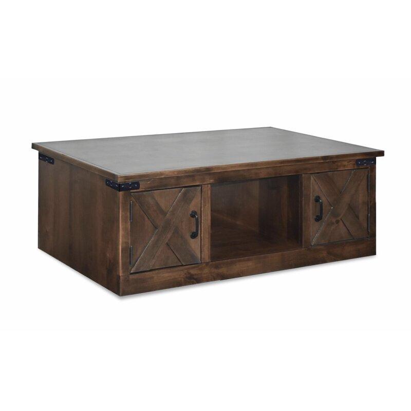 Loon Peak Pullman Coffee Table With Storage Wayfair