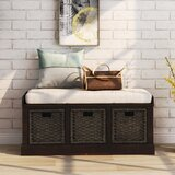 Drawer Equipped Storage Benches You Ll Love In 2020 Wayfair