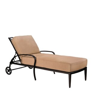 Apollo Reclining Chaise Lounge by Woodard