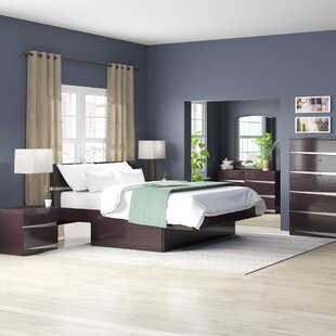 Emely Platform 4 Piece Bedroom Set