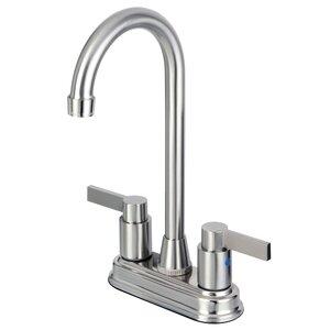 Nuvofusion Double Handle Centerset Kitchen Faucet