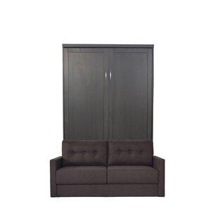 Brayden Studio Delapaz Queen Upholstered Murphy Bed