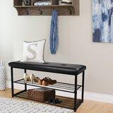 8 Pair Shoe Storage Bench by Ebern Designs