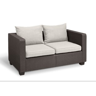 Halloran Loveseat with Sunbrella Cushions