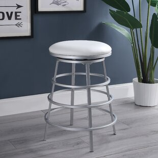 Kyzer Swivel Counter Stool by Orren Ellis