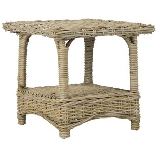 Fan End Table by Highland Dunes