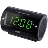 AM/FM Dual Radio with Nature Sounds Tabletop Clock