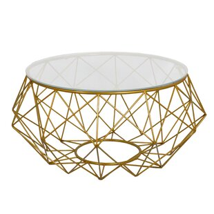 Diamond Wire Coffee Table by Fashion N You by Horizon Interseas Amazing