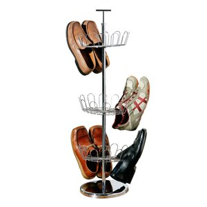 Schuhregal für 18 Paar Schuhe von All Home