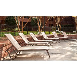 Gardenella Reclining Chaise Lounge (Set Of 4) by Telescope Casual Cool