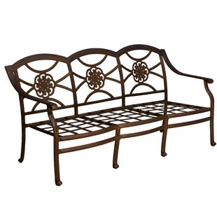 Fleur De Lis Living Ross Patio Sofa