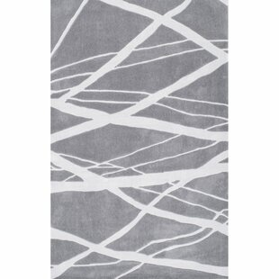 Price comparison Downard Hand-Tufted Gray Area Rug ByIvy Bronx