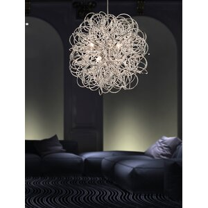 Stella 6 Light Geometric Pendant