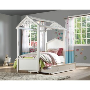 Sarver Twin Panel Bed with Trundle