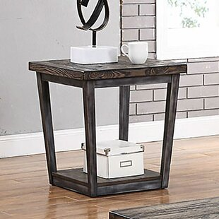 Clarkson End Table by Gracie Oaks