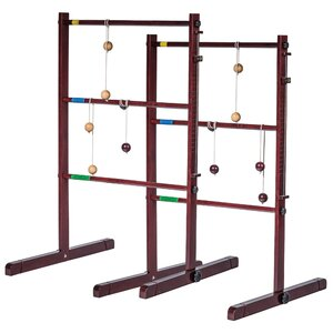 18 Piece Beach Bumz Golf Toss Ladder Ball Set