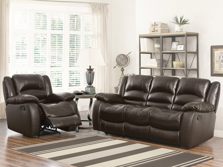 Darby Home Co Jorgensen 2 Piece Leather