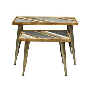 Hayle 2 Piece Console Table Set by Wrought Studio