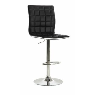 Iancarlo Adjustable Height Bar Stool (Set of 2) by Orren Ellis