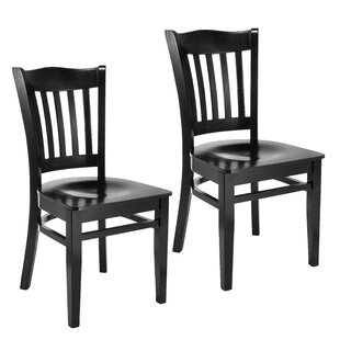 Darlington Slat Back Solid Wood Dining Chair (Set of 2)