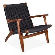 Langley Street Shaker Modern Solid Wood Armchair