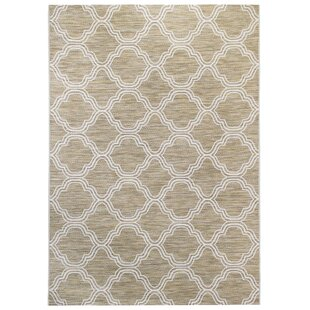 Mcquay Beige/White Indoor/Outdoor Area Rug