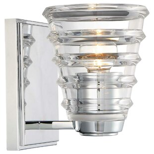 Read Reviews Shon 1-Light Bath Sconce By Ivy Bronx