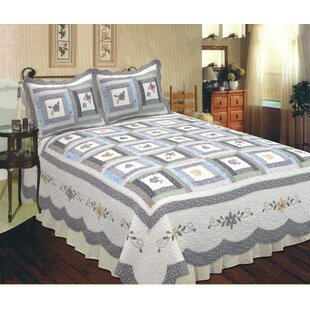 Elegant Decor Mayfield Quilt
