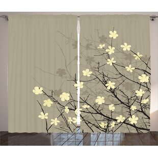 Anese Print Curtains Wayfair