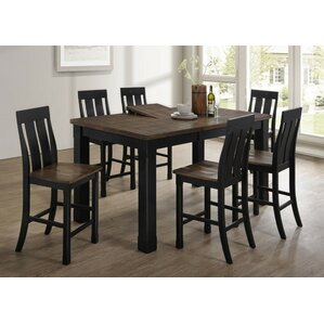 Landrum 7 Piece Dining Set by World Menagerie