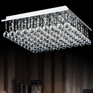 Rosdorf Park Cesar 12-Light Flush Mount