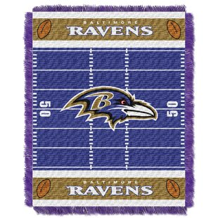 Low priced NFL Ravens Field Baby Blanket By Northwest Co.