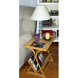 Chantay Bamboo Magazine Side Table by World Menagerie